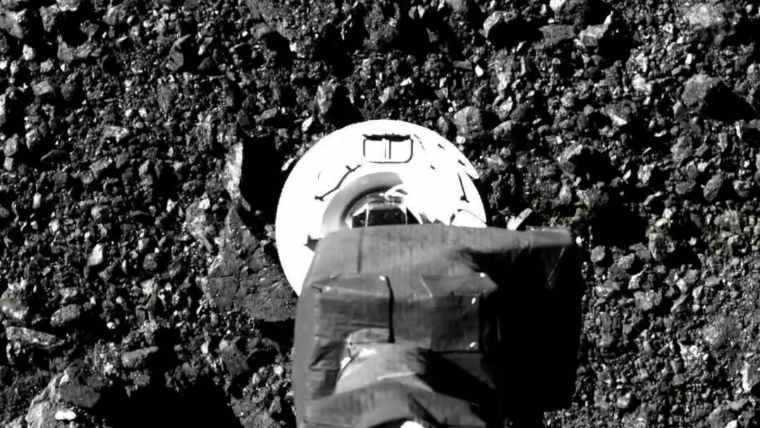 Sonda pobrała próbki z powierzchni asteroidy. NASA pokazała nagranie