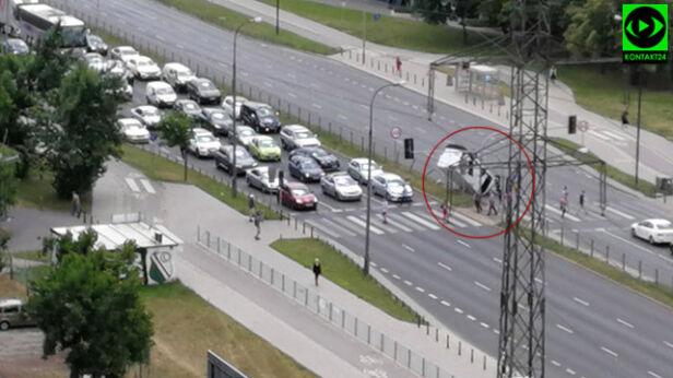 Zdarzenie na Gintrowskiego Serczer / Kontakt 24