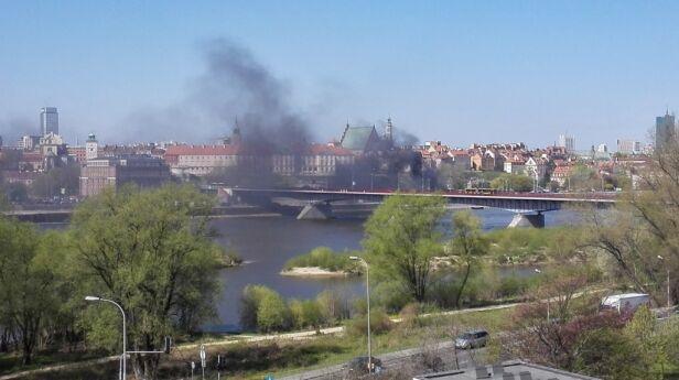 Pożar przy Starym Mieście Kontakt24