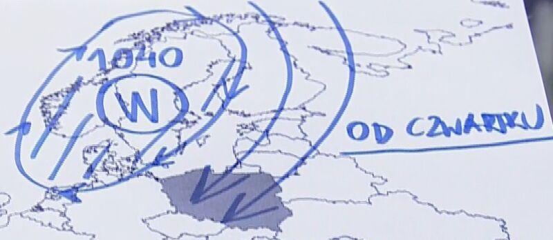 Wyż ściągnie mróz do Polski