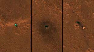 Zielony punkt na powierzchni Marsa. Co jest na zdjęciach zrobionych przez teleskop?