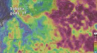 Potencjalne burze w najbliższych dniach (ventusky.com|wideo bez dźwięku)