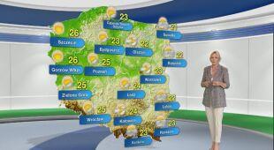 Prognoza pogody na poniedziałek 14.06