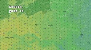 Temperatura w ciągu najbliższych pięciu dni (Ventusky.com)| wideo bez dźwięku