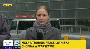 Poprawa na Lotnisku Chopina (TVN24)