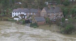 Powodzie na zachodzie Wielkiej Brytanii