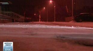 Wichura w nocy z czwartku na piątek w Świebodzinie(TVN24)