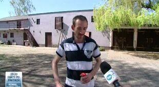 Meteoryt w ogródku? (TVN24)